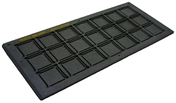 JEDEC Matrix tray for QFPs