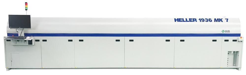 Reflow Oven for High-Throughput Applications : Mark 7