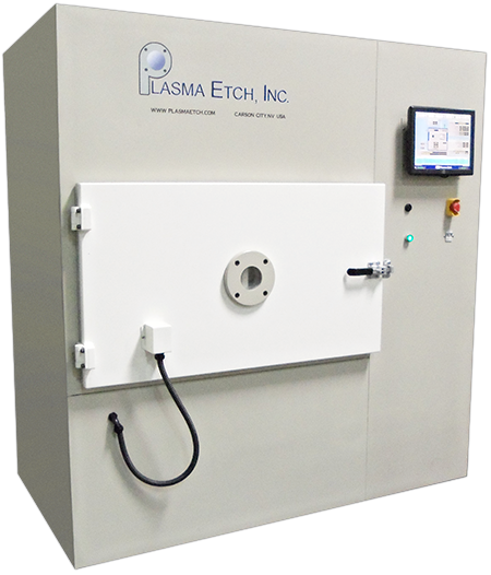 The Gasless Mark II Plasma System is able to perform Desmear or Etch Back without the use of CF4 gas.