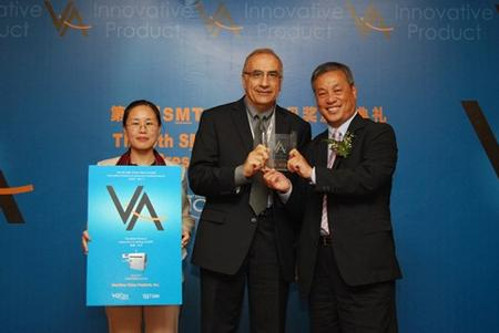 Dr. George T. Ayoub recieves the SMT China Vision Award