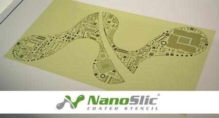 NanoSlic Gold Coated Stencil