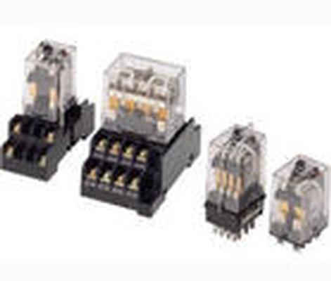 Omron PLC ,Limit switch & relay