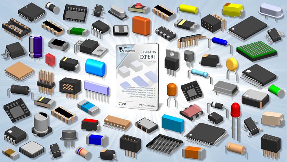 PCB Library Expert - Tens of Millions of FREE Parts, 25 CAD Formats!