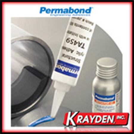 Permabond TA459, adhesive for bonding magnets and metals.