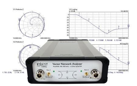 PicoVNA 106 Newtork Analyzer from Saelig