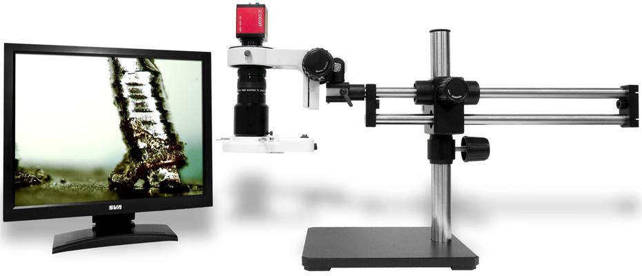 Trinocular Stereo Zoom Microscope Systems