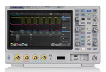 2/4-channel 100-350Hz Siglent SDS2000X Plus Series Oscilloscopes from Saelig