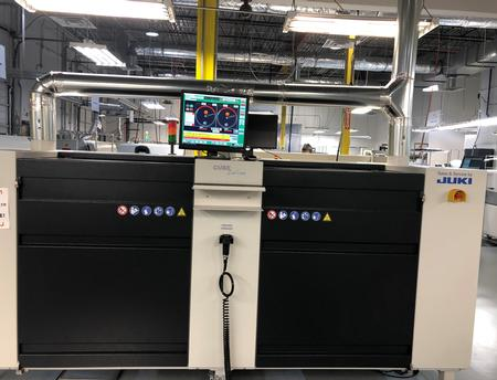 Juki iCube recently installed at Advanced Assembly.