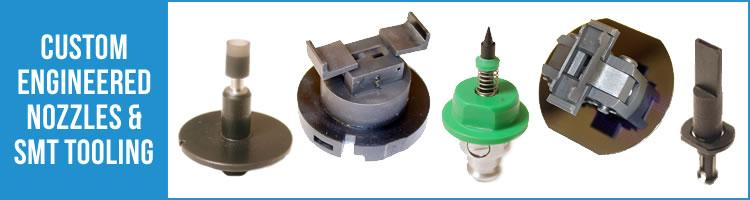 Custom Engineered SMT Nozzles & Tooling