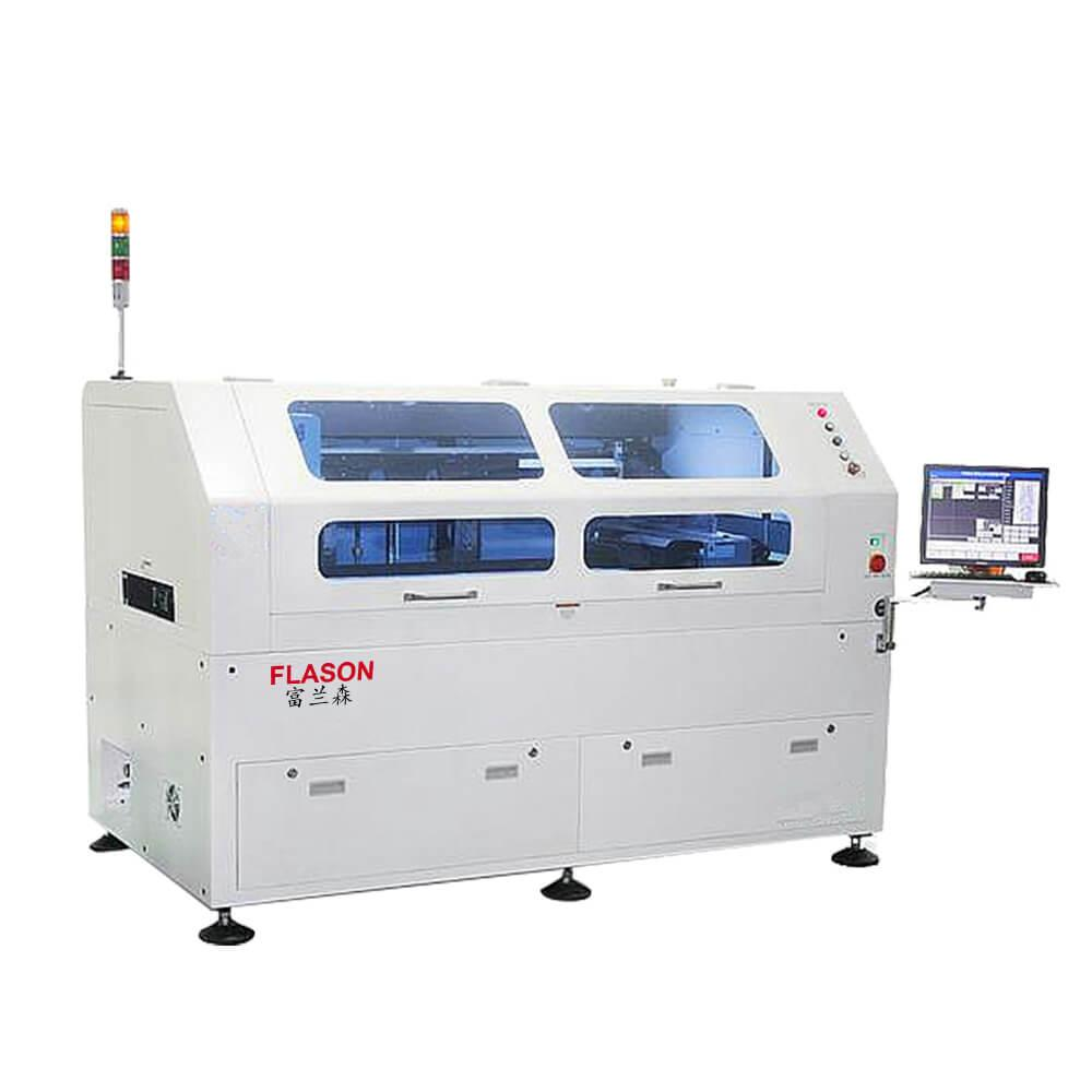 Billboard Smt Defects Electronics Manufacturing 851 Pcb And Solder Flason Automatic 1200mm Paste Printer For Assembly Line