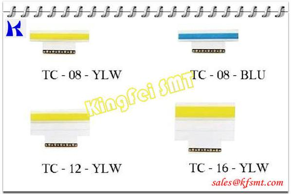 Panasonic SMT Double Sticky Splice Tape TC 8mm,12mm,16mm,24mm,yellow/blue/black color with Clip