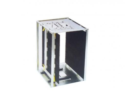 SMT heat-resistance type Magazine Rack , PCB Rack Magazine for PCB Size 460*(100-330)mm