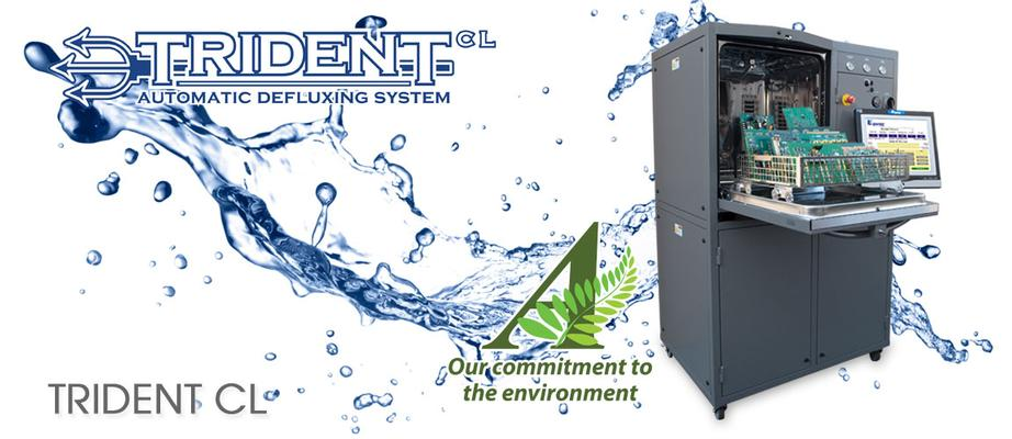 Trident-CL - Defluxing and Cleanliness Testing System