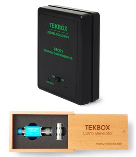 TekBox Comb Generators from Saelig