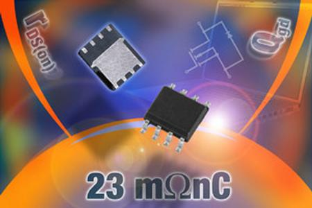 The two power MOSFETs are designed for low-side operation in synchronous buck (single- and multi-phase configurations) dc to dc converters in notebook PCs, servers, and VRM modules, as well as in synchronous rectification in fixed telecom systems.