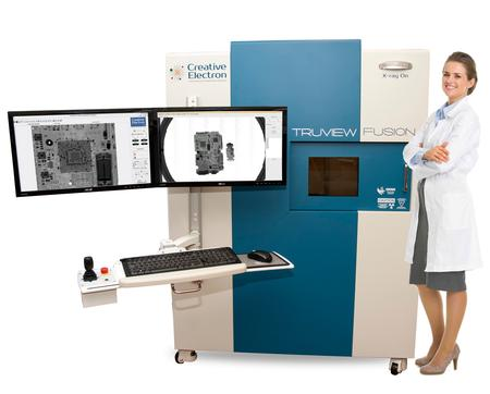 The TruView™ Fusion X-ray is the right solution if you are looking for a radiography system to inspect medical devices, printed circuit boards, electronic components, and mechanical parts.