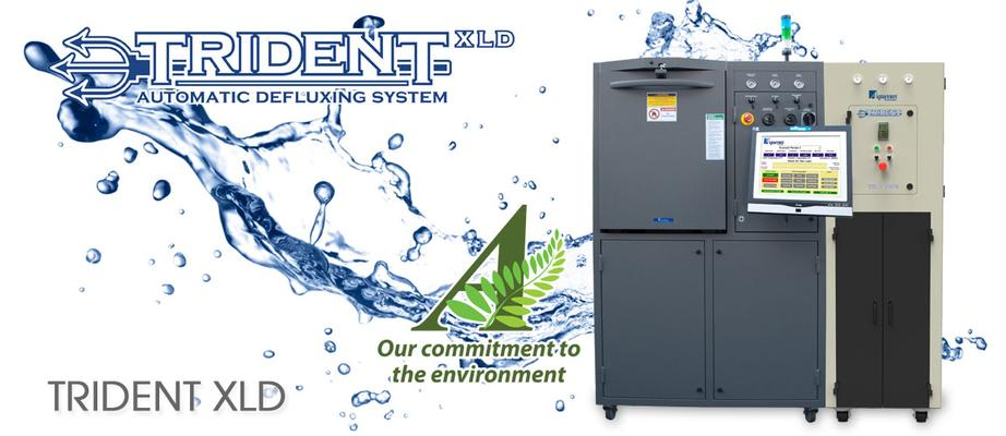 Trident XLD Automatic Defluxing and Cleanliness Testing Systems