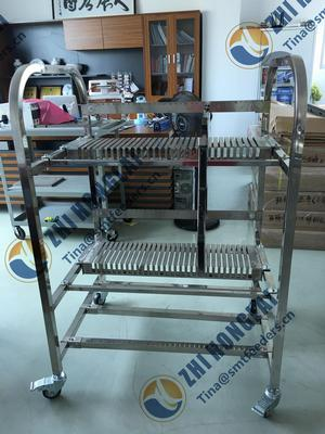 Universal Instruments feeder storage cart