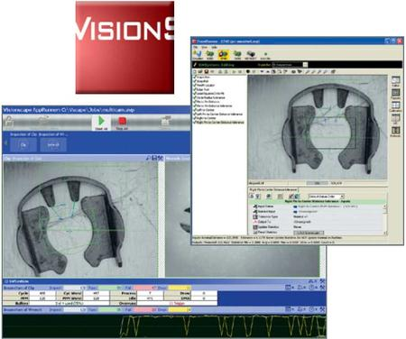 Visionscape® software provides all the elements required to develop and deploy machine vision applications in an industrial environment.