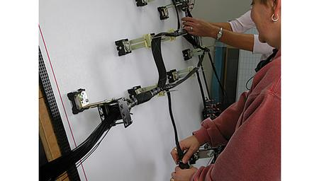 Wire harness hands on class
