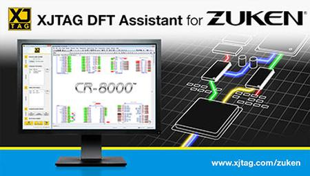 XJTAG DFT Assistant available as CR-8000 Design Gateway Plugin