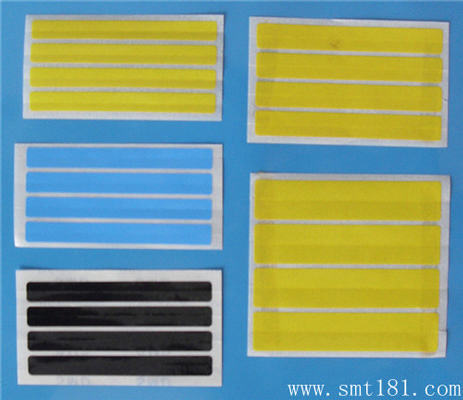 Fuji yellow,blue,black four splice