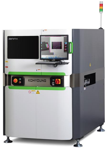 Zenith 3D AOI with Revolutionary New 3D Measurement