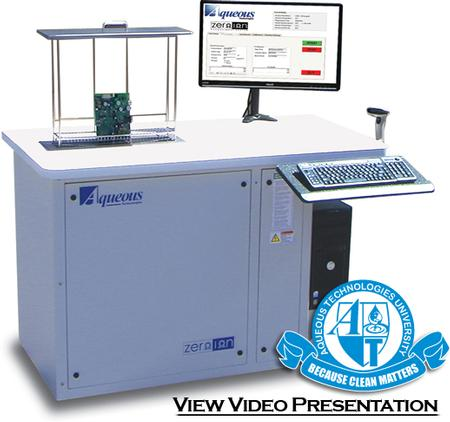 Zero-Ion ionic contamination tester is one of the industry's most popular Resistivity of Solvent Extract (ROSE) testers.