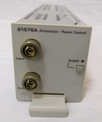 Agilent 81576A Variable Optical Attenuator Modules with Power Control and Straight Interface