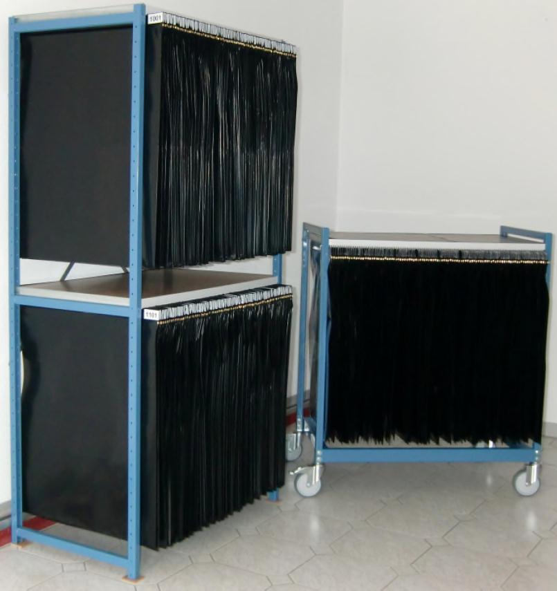 Mofisto Stencil Storage System
