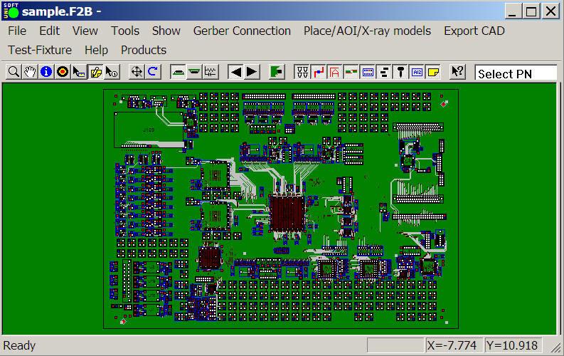 Unisoft ProntoAOI - AOI Machines Programming Software