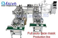 disposable medical face mask making machine