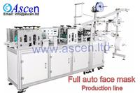 outer ear loop face mask making machine