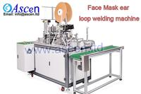 Face mask ear loop sealing machine