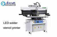 LED board solder paste printer