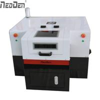 low cost SMT led PCB production equipment automatic pick and place machine NeoDenL460 max 18,000CPH with 4 heads