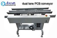 Dual lane assembly conveyor