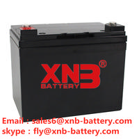 XNB-BATTERY 12V /33Ah  battery sales6@xnb-battery.com