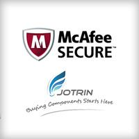 McAfee SECURE Certification for Jotrin Electronics