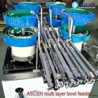 multi track vibratory feeder bowl