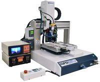 The Catalina Series benchtop systems are compact, full-featured platforms with these standard features: automatic vision, laser surface sensing, and nozzle alignment
