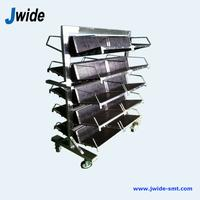 Antistatic ESD PCB trolley for EMS factory