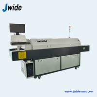 Small 5 zone SMD reflow oven machine for LED assembly line