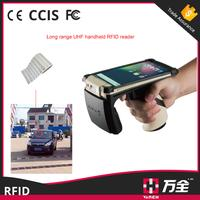 2017 High Quality Long Range Mobile UHF Handheld RFID Reader