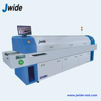 6 zone SMT Welding reflow oven with computer for EMS factory