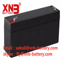 XNB-BATTERY 6V / 3.2 Ah  battery sales6@xnb-battery.com