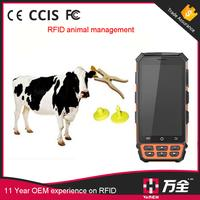 wifi bluetooth GPS GPRS handheld rfid uhf reader