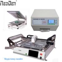 SMT PCBA Production Line equipment Pick and place machine+Reflow oven+Solder Printer