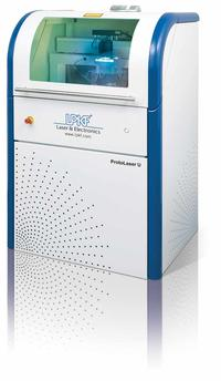 The LPKF ProtoLaser U allows A-Laser to quickly, cleanly and accurately cut or structure the most diverse materials.
