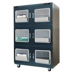 Dry cabinet for well-storage of PCB, IC, SMD comply with JEDEC-033C, with ESD function(A1B-1200-6 Adjustable dry cabinet, 5~50%RH ).